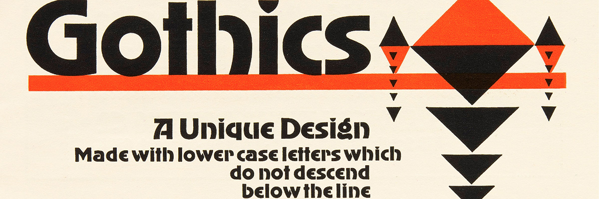 Type@Cooper - 20th Century Metal Type Foundry Ephemera