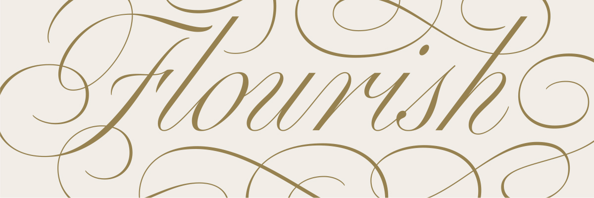Type@Cooper - Flourished Script Lettering