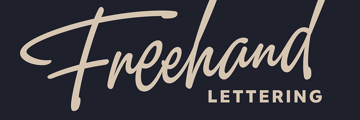 Type@Cooper - Freehand Lettering