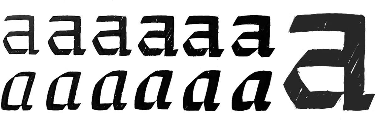 Type@Cooper - Typeface Ideation: Sketch and Scope