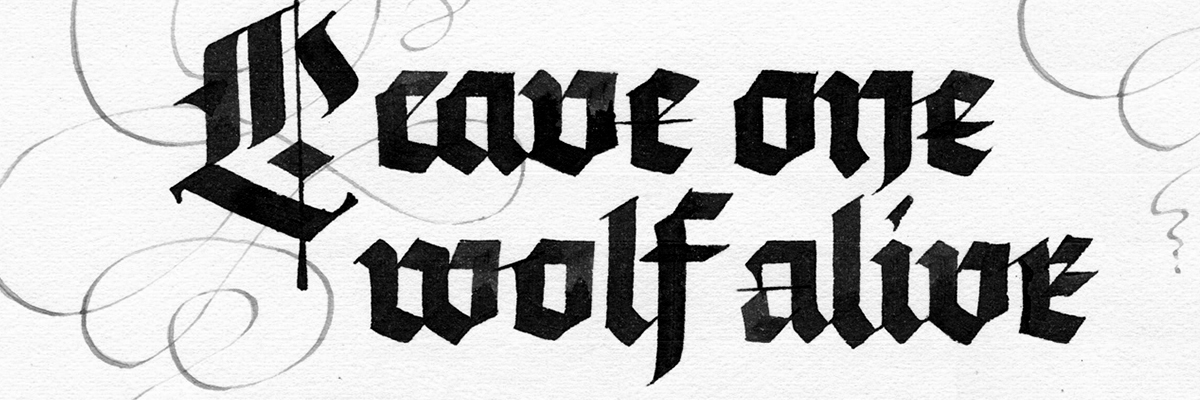 Type@Cooper - Calligraphy: Blackletter Fundamentals
