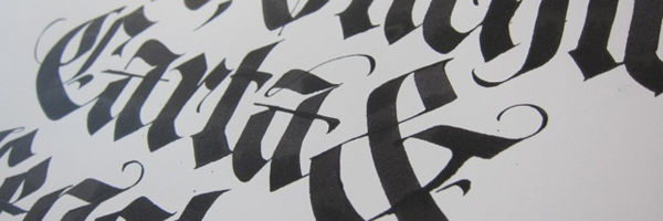 Type@Cooper - Calligraphy in Visual Communication