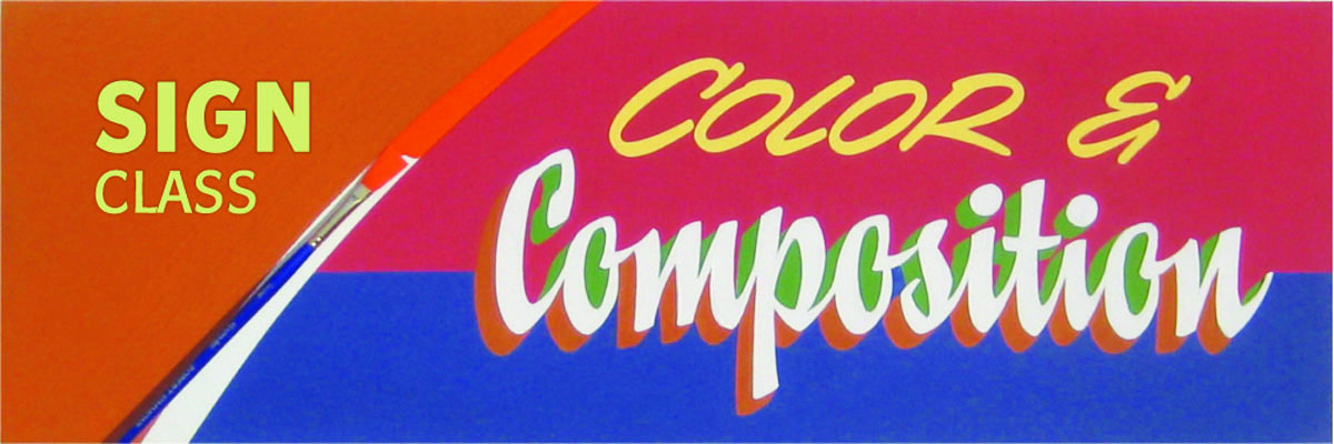 Type@Cooper - Sign Painting: Color & Composition
