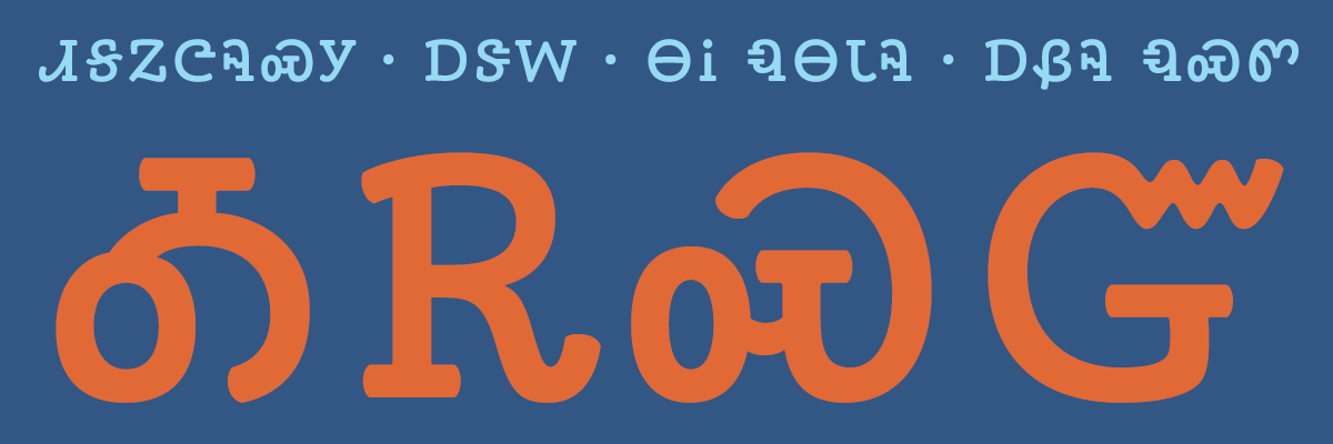 Type@Cooper - Learning To Design The Cherokee Syllabary